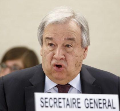 联合国秘书长:新冠疫情是二战以来人类最大危机