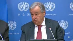 联合国秘书长呼吁各国支持世卫组织抗疫努力