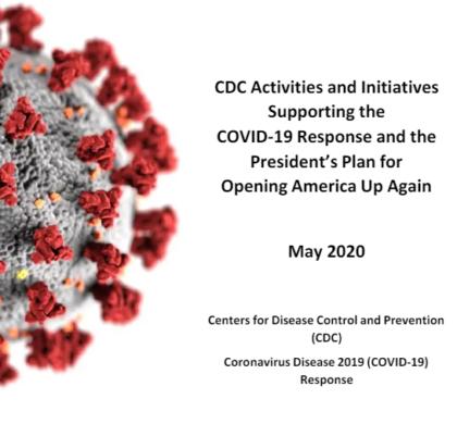 遭白宫搁置数周 CDC悄悄发布详细版重启指南