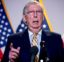 Senate Majority Leader Mitch McConnell, R-Ky., speaks to reporters during a news conference following a Senate policy luncheon on Capitol Hill, Tuesday, June 16, 2020, in Washington. (AP Photo/Andrew Harnik)