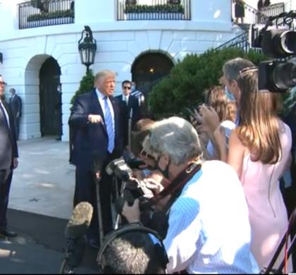 """美国财长:两党就纾困法案谈判""""相距甚远"""""""