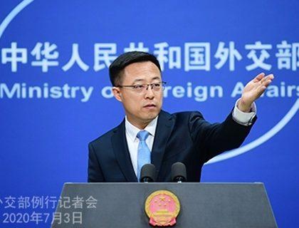 中国外交部:香港国安法保权益 欢迎美企继续在港运营