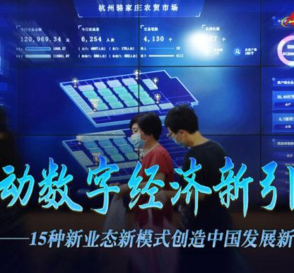 启动数字经济新引擎——15种新业态新模式创造中国发展新机遇