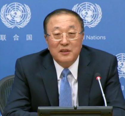 中国代表呼吁国际社会促进共同发展