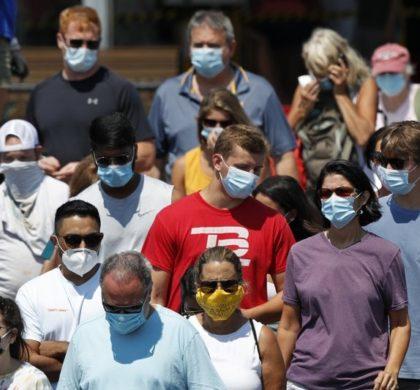 美国新冠确诊人数突破600万 中西部感染增加