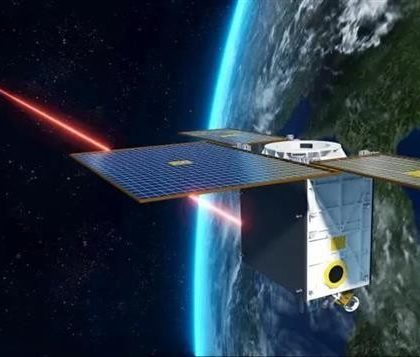 """中国""""行云二号""""卫星成功验证星间激光链路技术"""