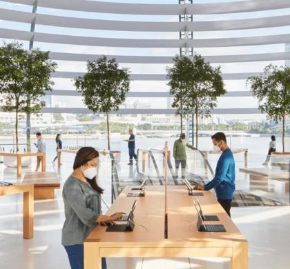 """苹果设计iPhone的团队""""转行""""为自家员工设计口罩"""