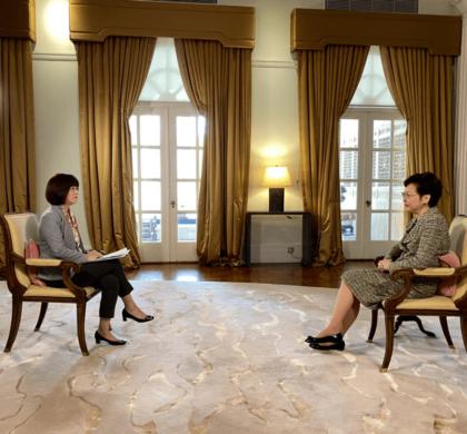 林郑月娥:不介意被深圳反超 港深要互相过河