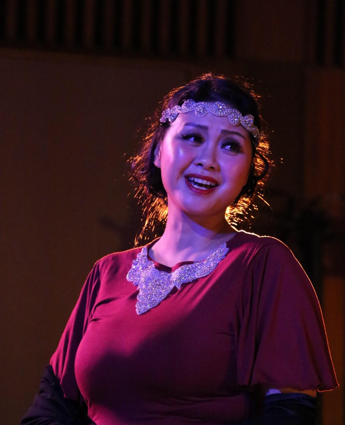 歌剧表演艺术家黄靖懿:致力于将歌剧音乐艺术播洒在美国华人社区