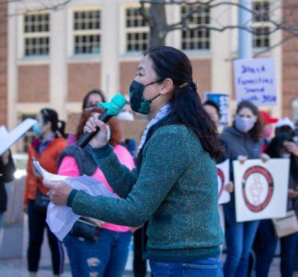 哈佛广场反仇恨亚裔集会体现亚裔与各族裔的多元化融合