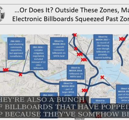波士顿市议会举办控制电子广告牌扩散听证会 与会市议员和所有代表均反对设立电子广告牌