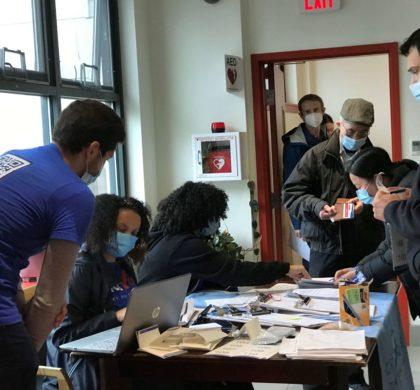 疫苗接种深入波士顿大型亚裔社区  数百名居民在家门口接种极为便利
