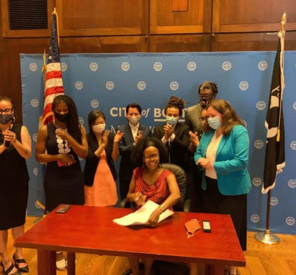 珍妮市长扩大公众参与波士顿预算的制定 创建了波士顿市第一个参与式预算办公室