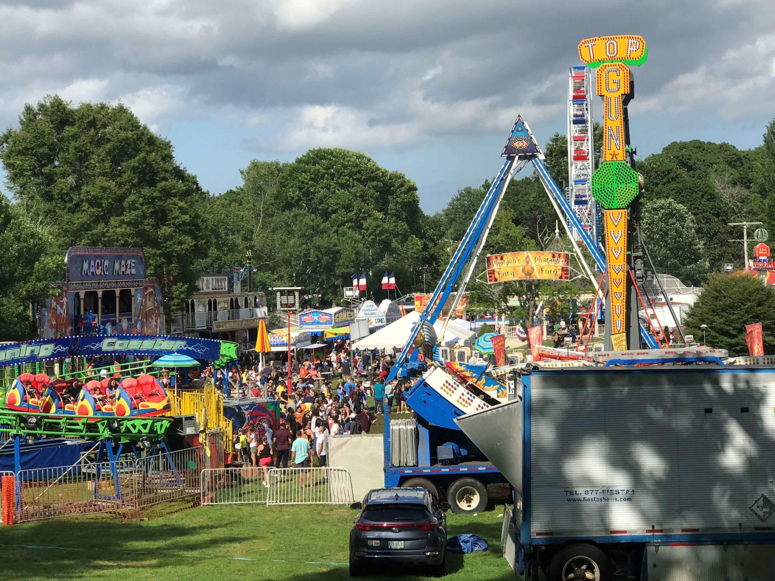 历史名镇莱克星敦镇举办庆祝独立日大型嘉年华活动