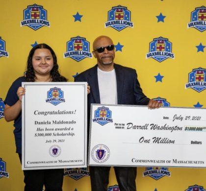 首批 VaxMillions 赠品获奖者宣布 全州超过 230万居民报名参加抽奖