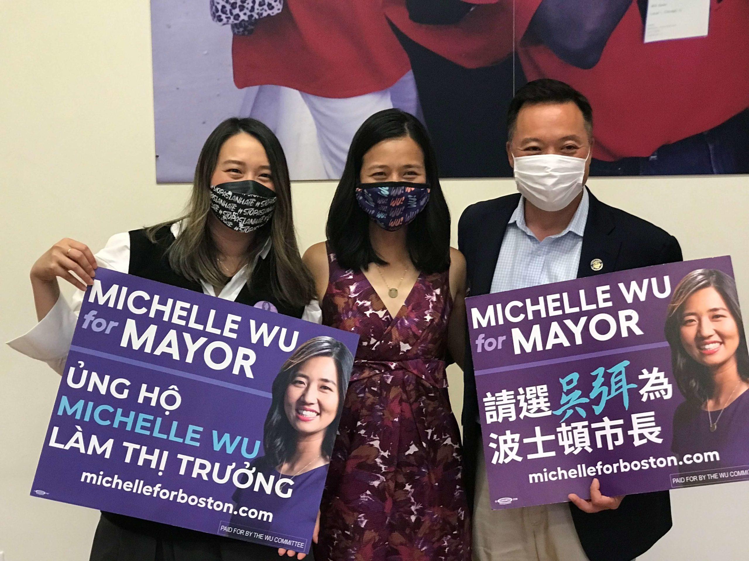 今日正式进入波士顿市长初选  之前各位候选人均作最后努力