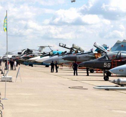 综述:多家中企莫斯科航展展示中国航空航天创新成果