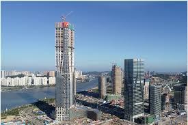 横琴国际金融中心主体结构封顶