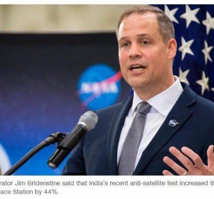 美航天局长称2024年登月面临技术挑战
