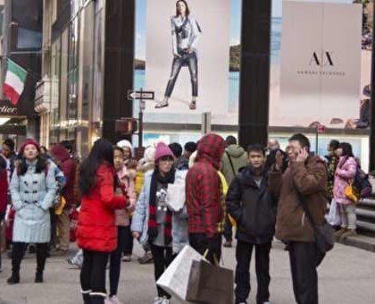 美国旅游局官员:中国赴美游客数量继续减少