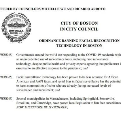 担心人脸监控加剧种族歧视 波士顿议会通过禁用人脸识别