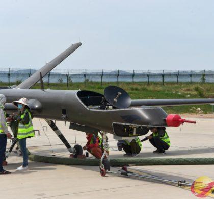 中国翼龙无人机首测应急通信系统