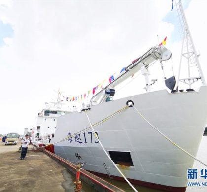 搭载北斗定位装置的大型航标船列编南海航保中心