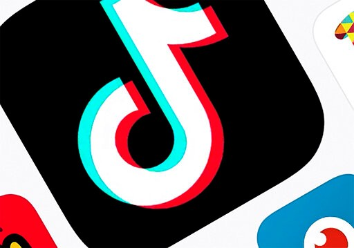 FILE - This Feb. 25, 2020, photo shows the icon for TikTok taken in New York. TikTok said Tuesday, July 7, 2020, it will stop operations in Hong Kong, joining other social media companies in warily eyeing ramifications of a sweeping national security law that took effect last week.(AP Photo, File)