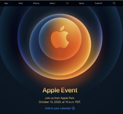 5G iPhone终于来了?苹果宣布下周举行新品发布