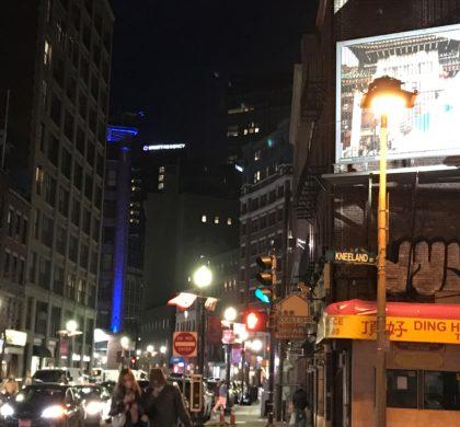 波士顿唐人街拟设大型电子广告牌?   市议员联名去信上诉委员会强烈反对