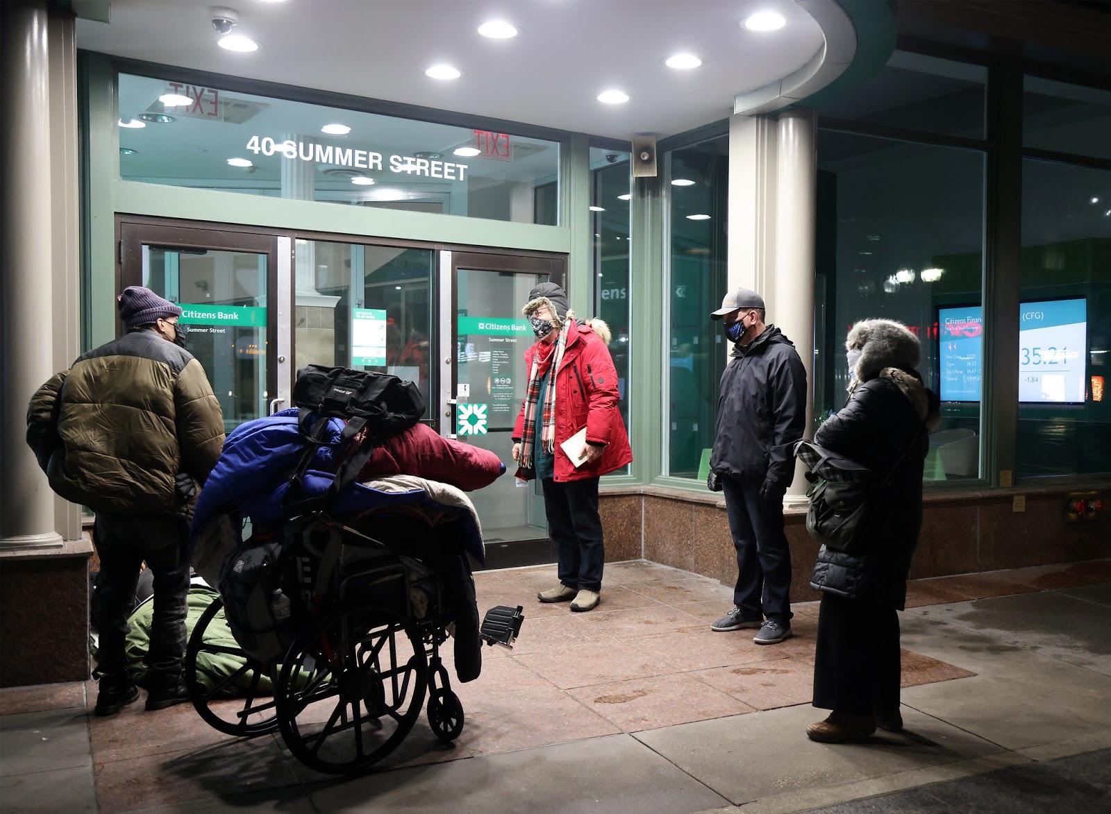 波士顿第41次年度无家可归者普查   让城市资源实现每个人有家可回