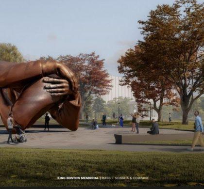波士顿公园雕塑《拥抱》设计获批 以纪念马丁·路德·金于2022年揭幕