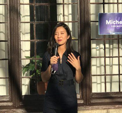 波士顿市议员兼市长竞选人吴弭竞选筹款超过100万美元