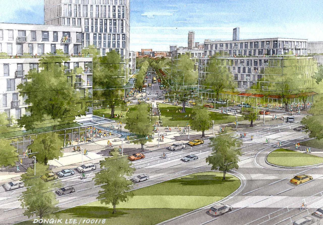 南波士顿麦科马克住宅区将大规模改造 150万平方英尺建设至少十年公寓翻倍