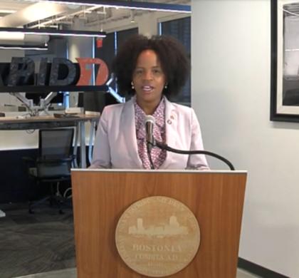 珍妮市长向大波士顿商会发表讲话 阐述如何领导全面恢复开放和复兴