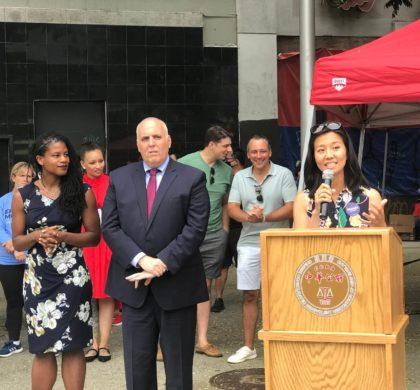 吴弭竞选波士顿市长获100多位拉丁裔社区领导人背书支持