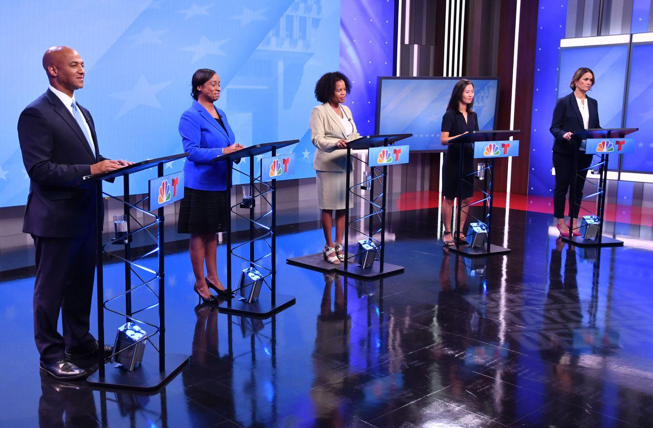 波士顿市长候选人初选前 展开第一次激烈电视辩论